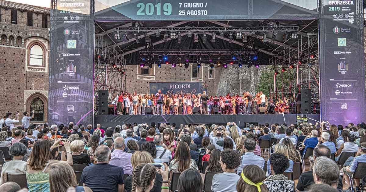 Estate Sforzesca: Ricordi Music School tra i protagonisti
